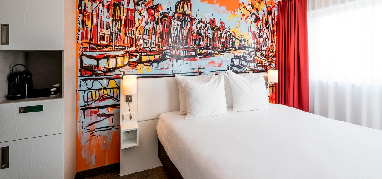 Art hotel amsterdam 3 stars westcord hotels for Maxim design hotel 3 star superior