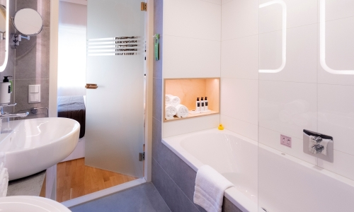 Comfort Plus Bathroom - Hotel Delft