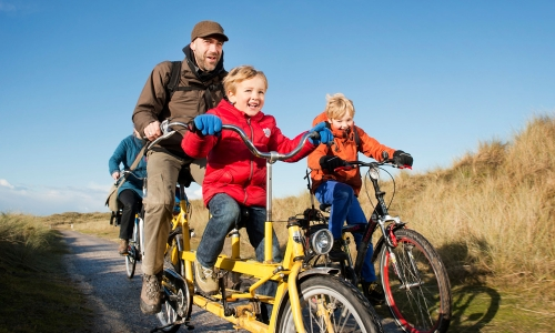 Cycling on the Dutch Wadden Islands