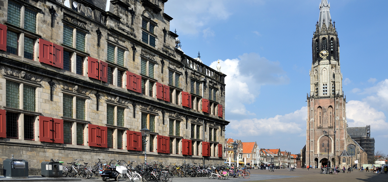 Discover historical Delft