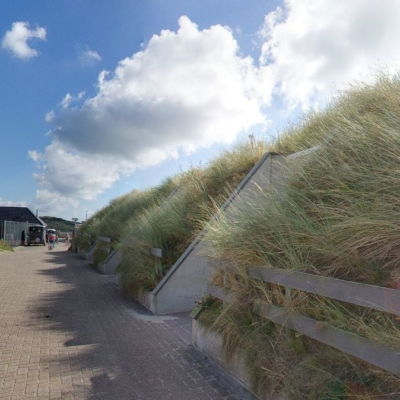 360º foto Achterzijde Strandhotel Seeduyn