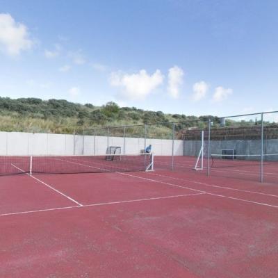 360º foto Tennisbaan Strandhotel Seeduyn
