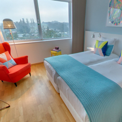 360º foto Tweepersoonskamer 'Colour' WestCord Hotel Delft