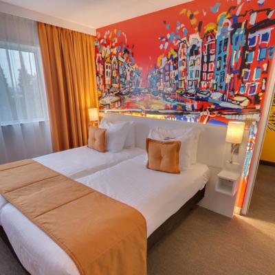 360º foto Quad Deluxe Room Art Hotel Amsterdam ***