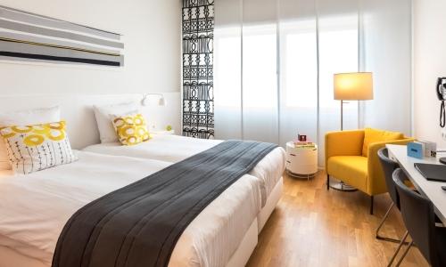 Comfort Room Graphic - Hotel Delft