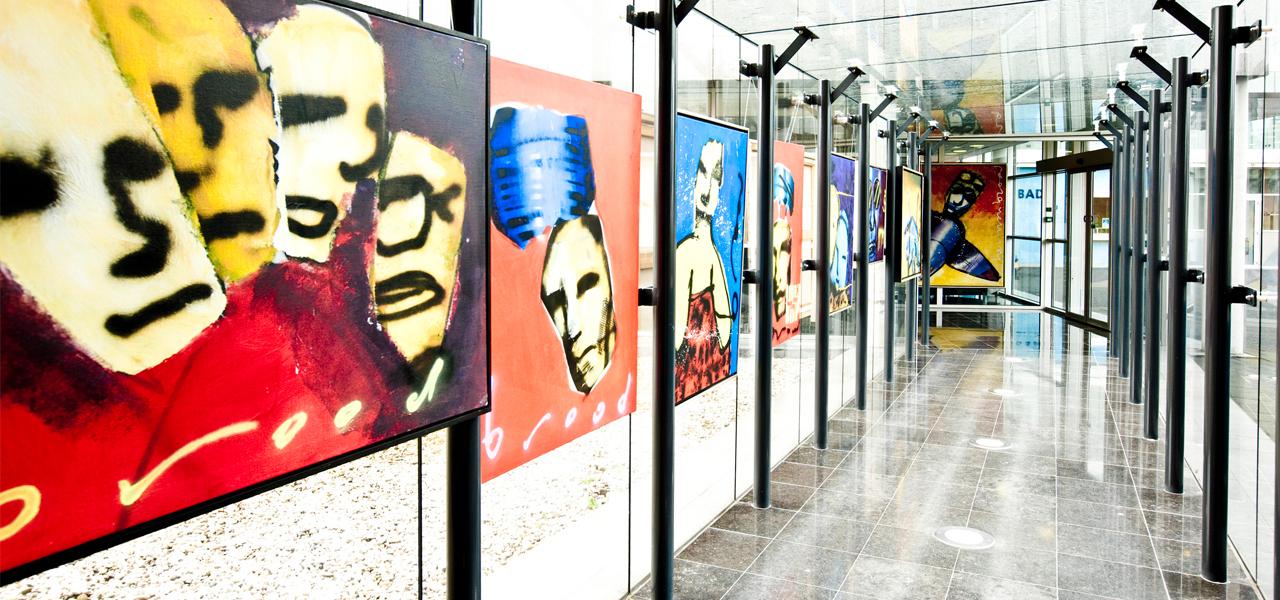 360º foto Gallery Art Hotel Amsterdam