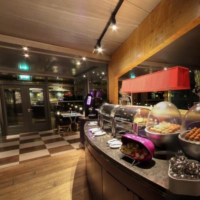 360º foto ontbijtrestaurant Art Hotel Amsterdam