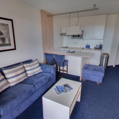 360º foto Appartement/Comfort Family Kamer WestCord Hotel Noordsee