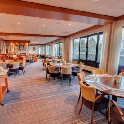 360º foto ontbijtrestaurant WestCord Hotel Noordsee