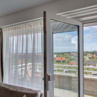 360º foto Superior Landzijde Balkon Strandhotel Seeduyn