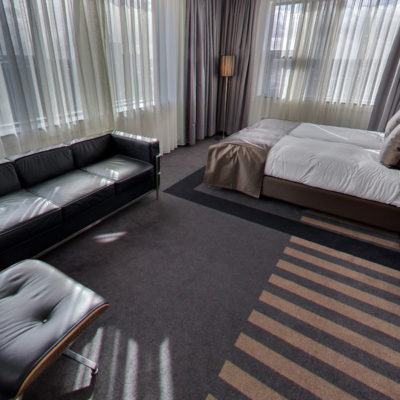 360º foto City View Deluxe Kamer WestCord WTC Hotel Leeuwarden