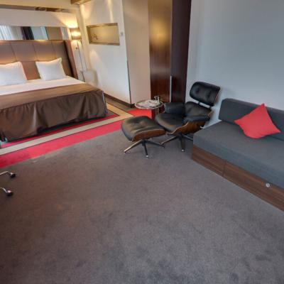 360º foto Extra Large Fashion Triple Room Fashion Hotel Amsterdam