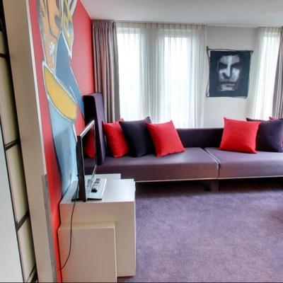 360º foto Herman Brood Suite Art Hotel Amsterdam ****
