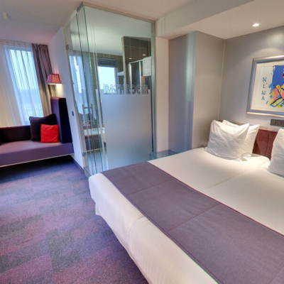 360º foto Large Fashion Room Art Hotel Amsterdam ****