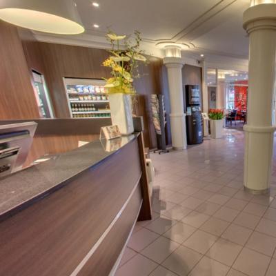 360º foto lobby WestCord City Centre Hotel Amsterdam