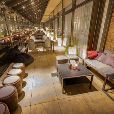 360º foto Overdekt terras Fashion Hotel Amsterdam