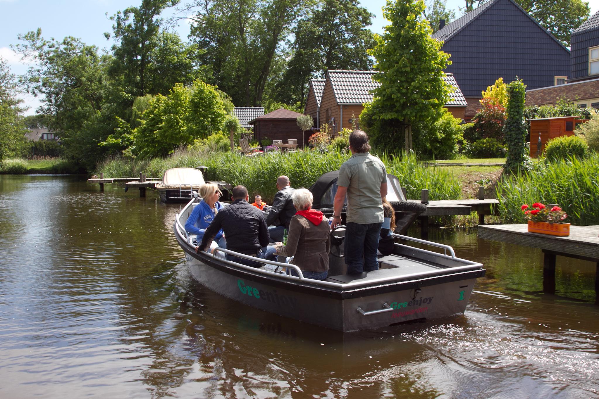 Enjoy the canals of Leeuwarden